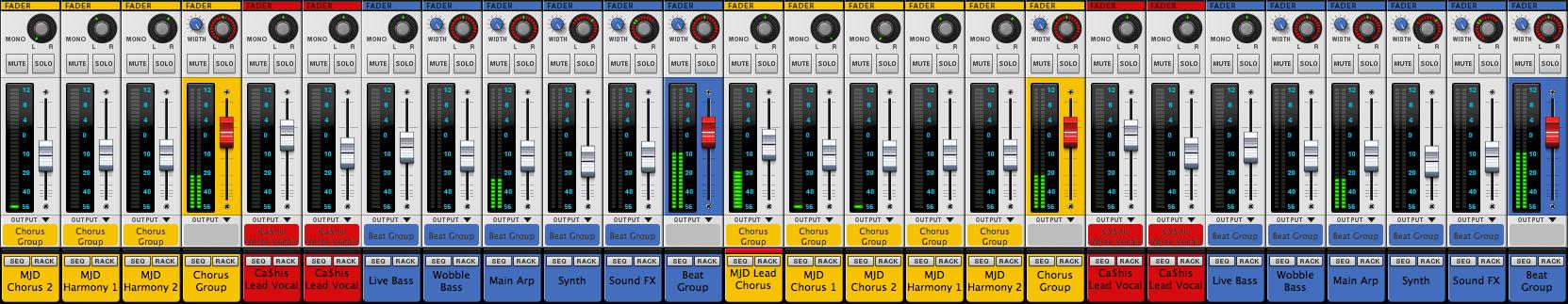 reason ssl mixer